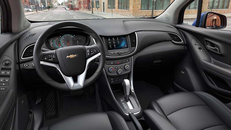 Interior Features of the New Chevrolet Trax at Garber in Linwood, MI