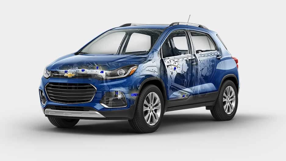 Safety Features of the New Chevrolet Trax at Garber in Linwood, MI