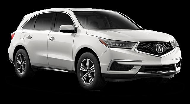 2018 Acura MDX Comparison