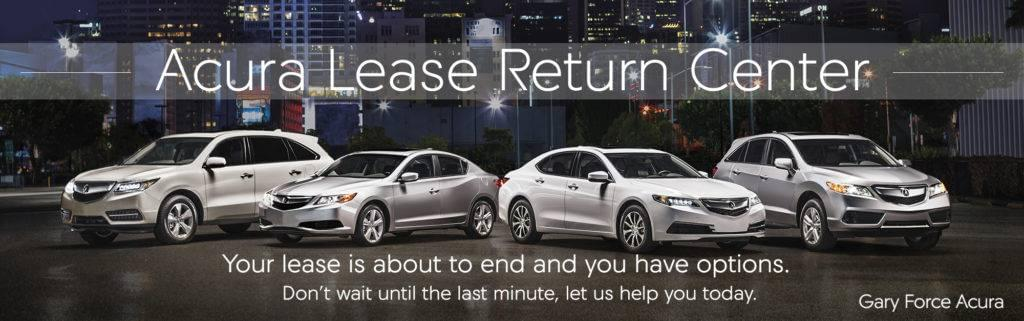 Acura Lease Return Gary Force Acura - Lease an acura