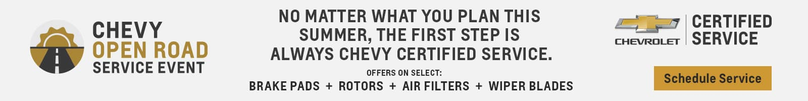 Certified Service Banner