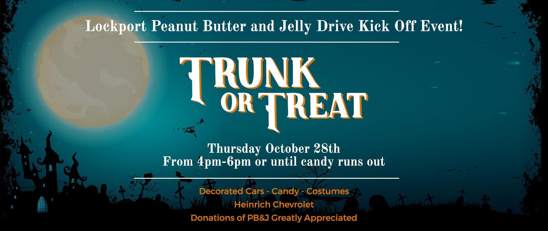 Lockport Peanut Butter and Jelly Drive Kick Off Event!