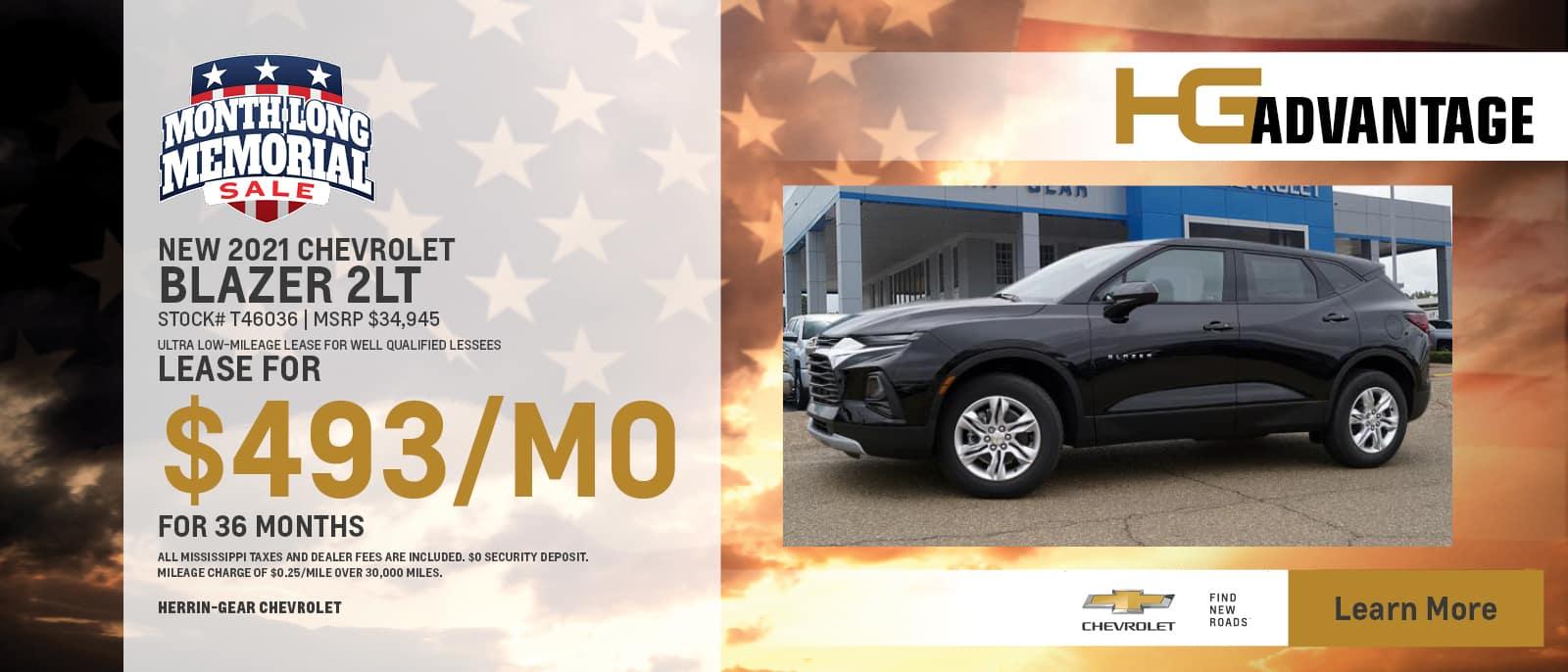 2021 Chevy Blazer 2LT