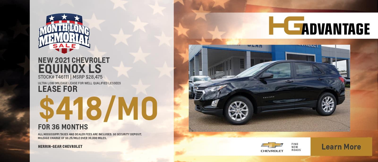 2021 Chevy Equinox LS