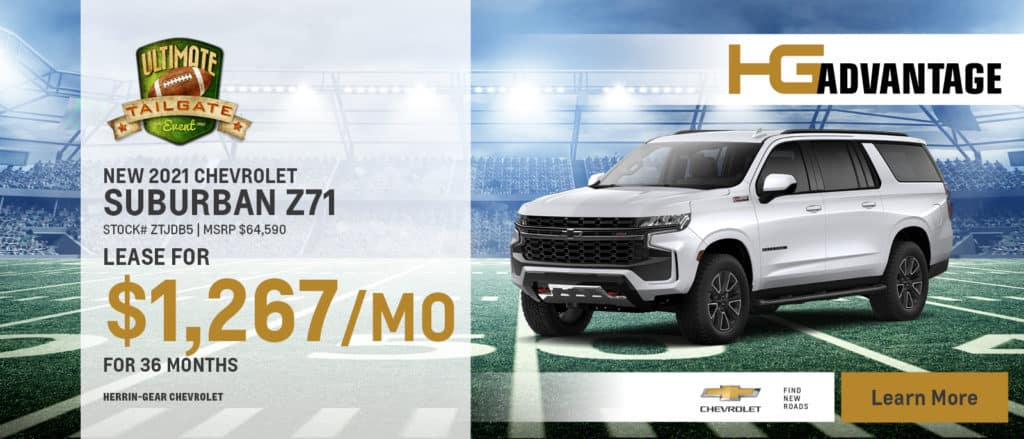 2021 Chevy Suburban Z71
