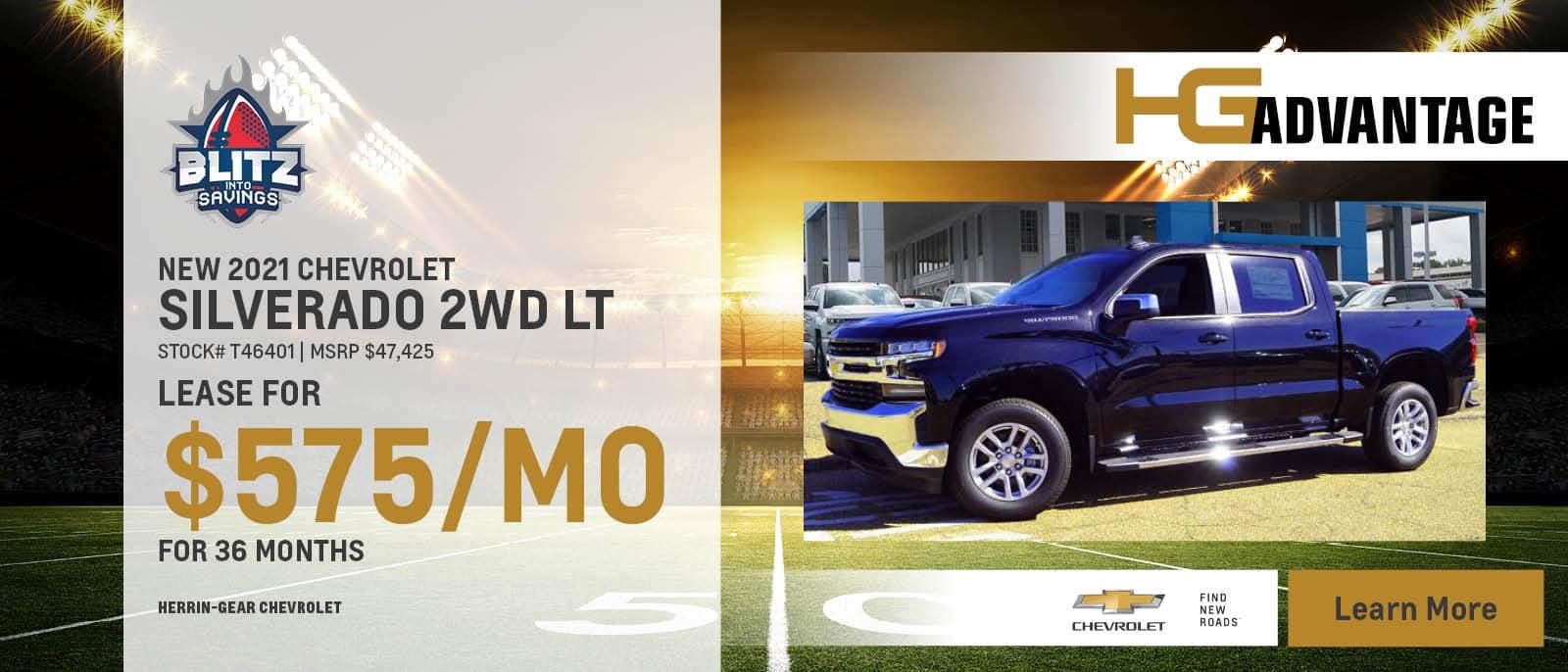 2021 Chevy Silverado 2WD LT