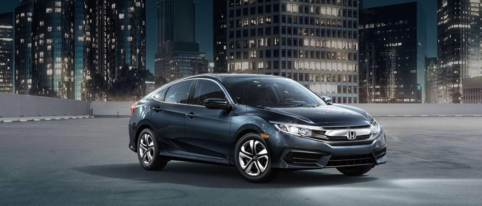2017 Honda Civic Parked