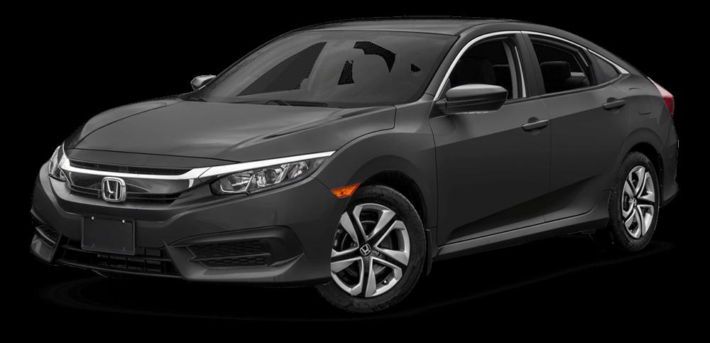2017 Honda Civic Black