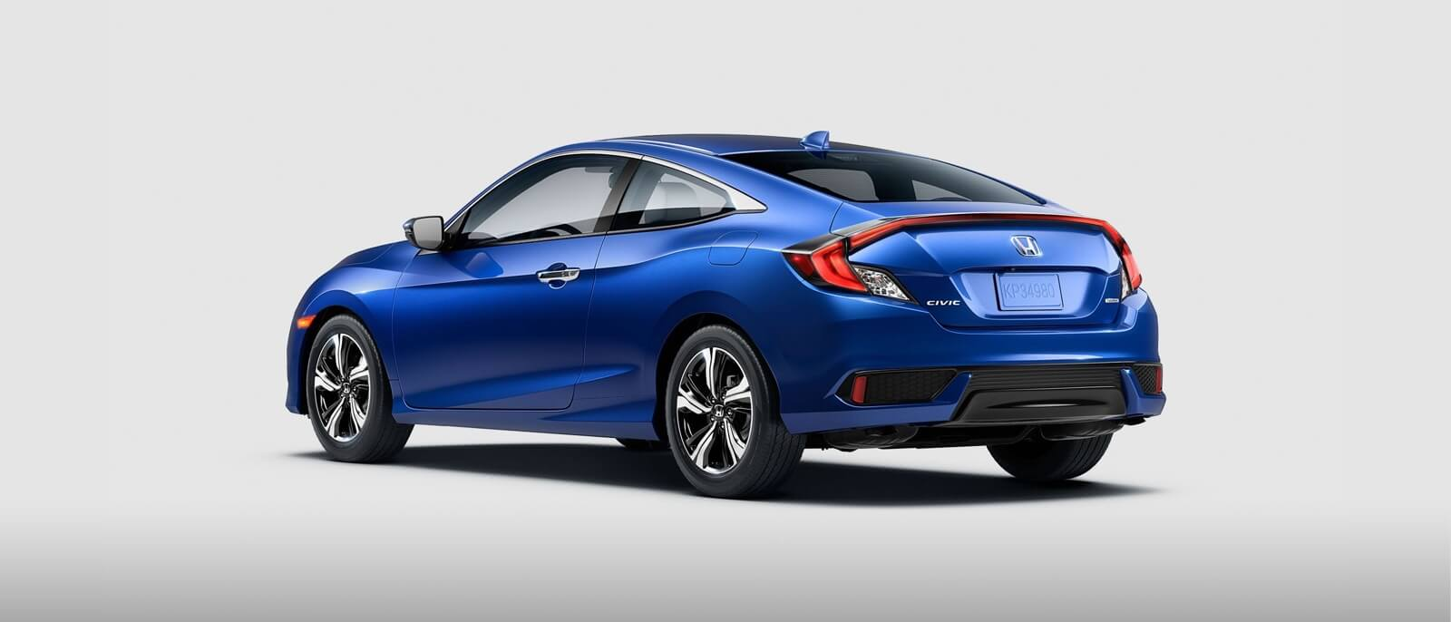 2016 Honda Civic Coupe rear view