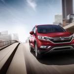 2016 Honda CRV red