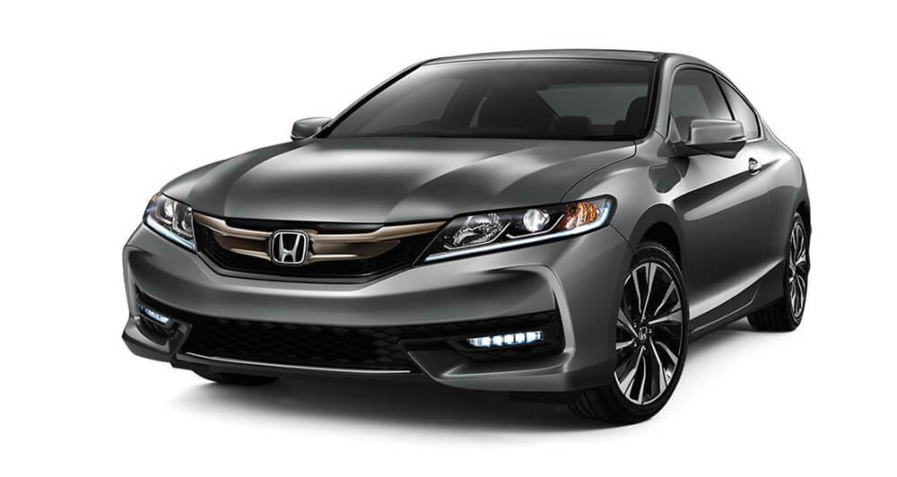 2017 Honda Accord Coupe Gray