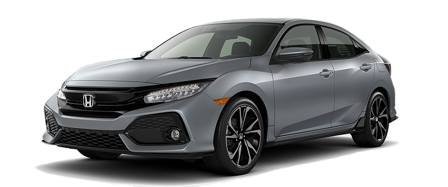2017 Honda Civic Hatchback Grey