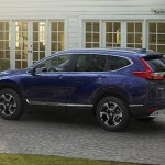 2017 Honda CR-V Blue