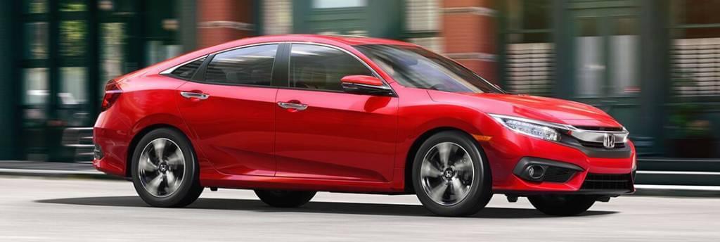 2017 Honda Civic Red