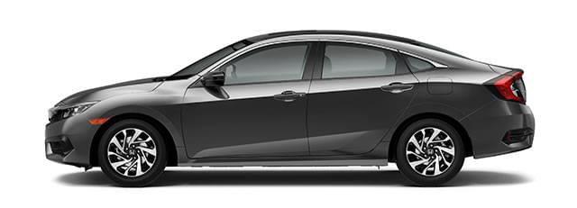 2017 Honda Civic Gray