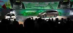 2018 Honda Odyssey Debut