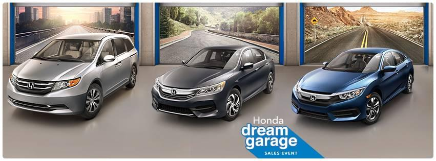 The Honda Dream Garage Sales Event