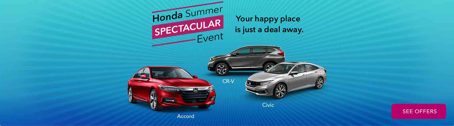 Honda Summer Spectacular Sale
