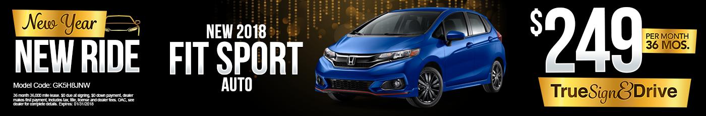 New Honda Fit Special