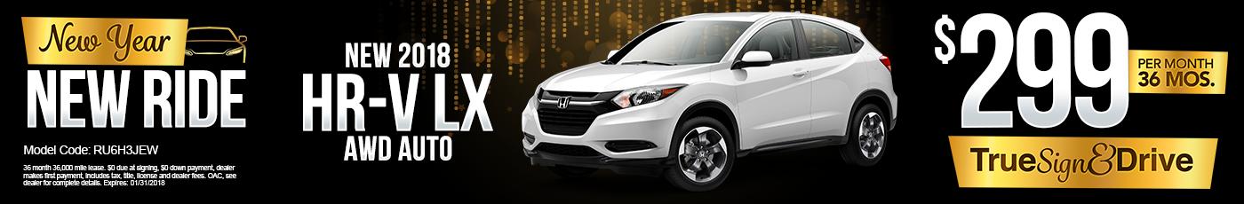 New Honda HRV Special