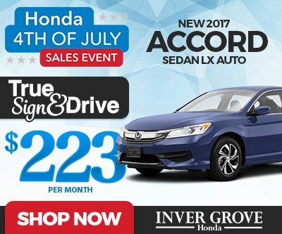 Honda accord lease deals mn lamoureph blog for Inver grove honda coupons