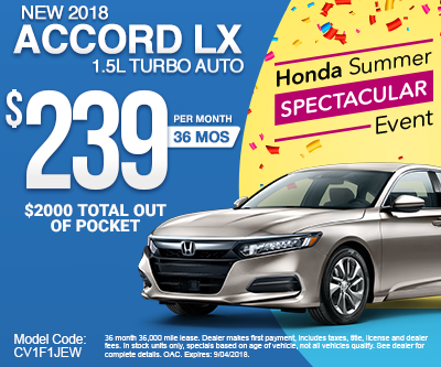New 2018 Accord