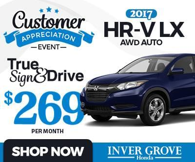 Honda sign drive lease specials mn minneapolis st 2017 for Inver grove honda coupons