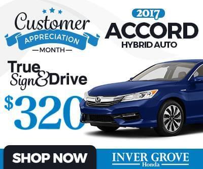New 2017 Honda Accord Hybrid Special