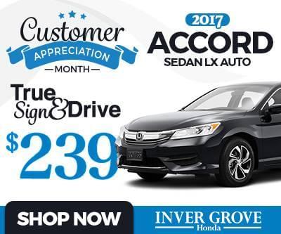 New 2017 Honda Accord LX Special