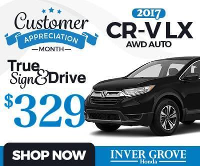 New 2017 Honda CR-V Special