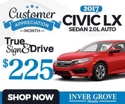 New 2017 Honda Civic LX Special
