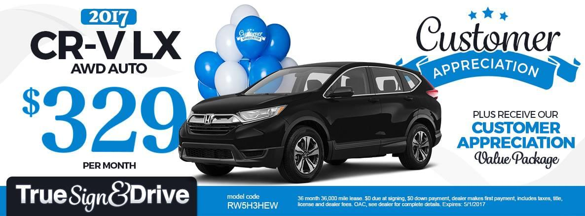 Honda crv lease specials 2017 2018 2019 honda reviews for Inver grove honda coupons