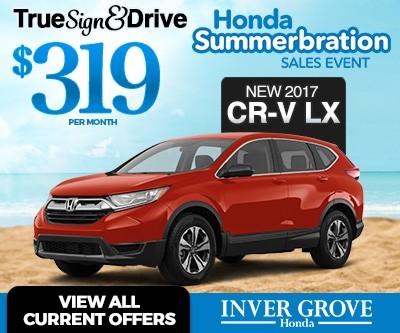 New 2017 CR-V Lease
