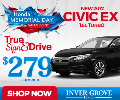 All new honda specials in inver grove heights mn inver for Inver grove honda coupons