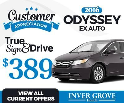 new honda odyssey for sale mn 2016 2017 st paul mn minneapolis inver grove heights mn. Black Bedroom Furniture Sets. Home Design Ideas