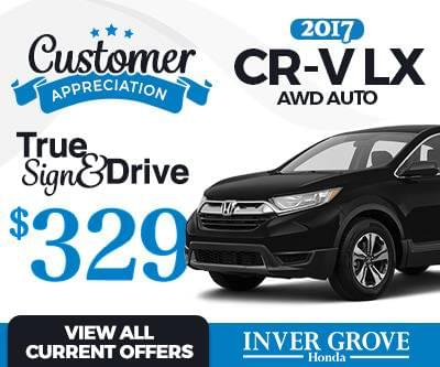 New 2017 CR-V Lease