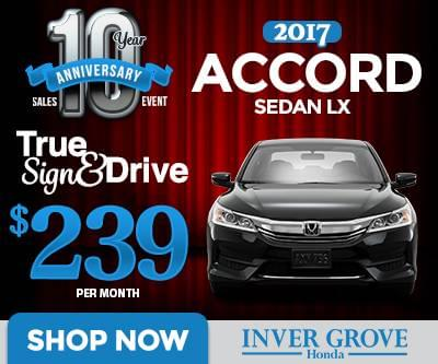 Honda Sign & Drive Lease Specials MN | Minneapolis | St ...