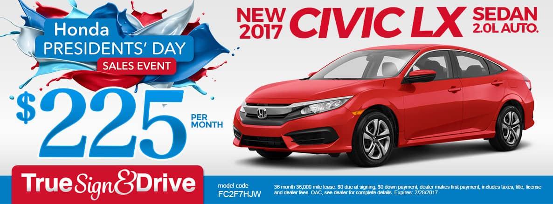 Presidents Day Car Sales 2017 >> Igh Sp Presidents 2017 Civic 225 V2 Inver Grove Honda