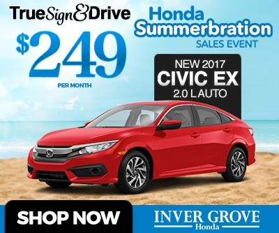 New 2017 Honda Civic EX Special