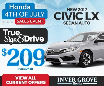Civic LX Lease Special