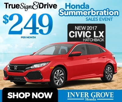 New honda lease specials mn civic accord cr v fit for Inver grove honda coupons