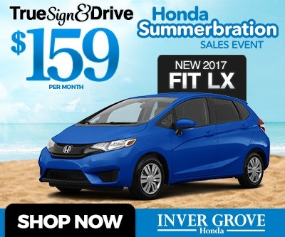 New 2017 Honda Fit Special