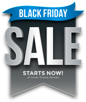 Honda black friday sale inver grove honda for Inver grove honda coupons