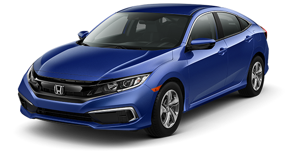 2019-Honda-Civic-LX-Blue
