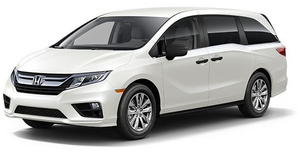 2019-Honda-Trim-Models-Odyssey-LX-White