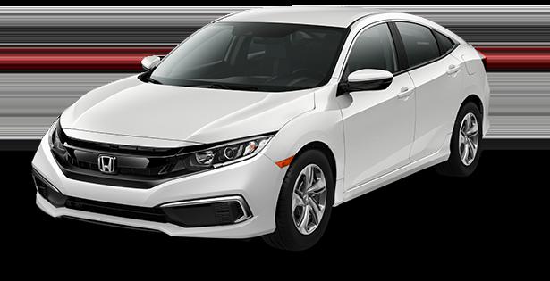 2019-Honda-Civic-LX-White