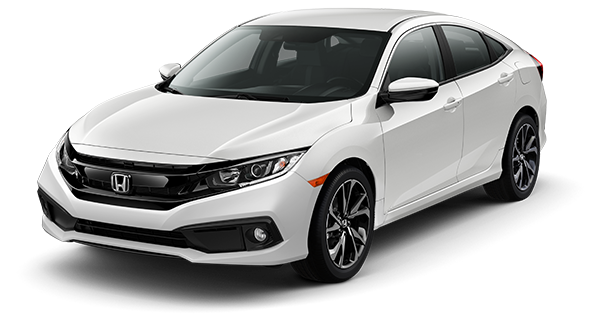 2019-Honda-Civic-Sport-White