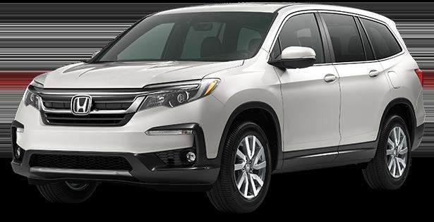 2019-Honda-Trim-Models-Pilot-EXL-White