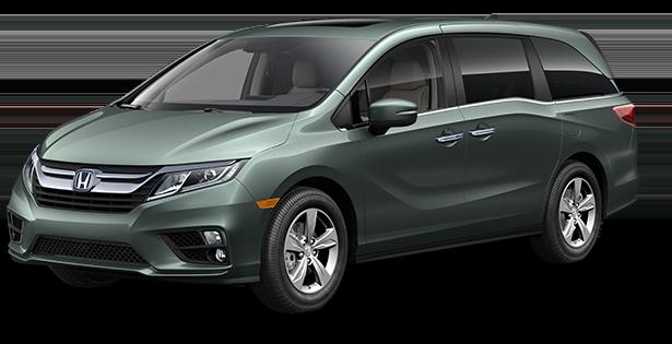 2019-Honda-Odyssey-EXL-Green