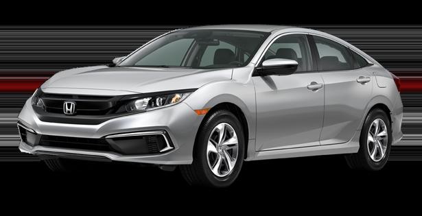 2019-Honda-Trim-Models-Civic-Sedan-LX-Silver